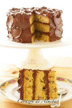 Corazón de almíbar: BANANA & WALNUT LAYER CAKE