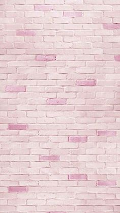 pink brick, wallpaper, and background image Tumblr Wallpaper, Pink Wallpaper, Cool Wallpaper, Mobile Wallpaper, Pattern Wallpaper, Brick Wallpaper Iphone, Disney Wallpaper, Wallpaper Quotes, Cute Backgrounds