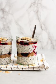 ... cherry bakewell quinoa breakfast parfaits ...