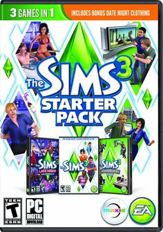 The Sims 3 Starter Pack Windows PC Game Download Origin CD-Key Global for only $18.95.  #videogames #deals #gaming #awesome #cool #gamer