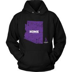 Arizona - Alzheimer's Support Hoodie