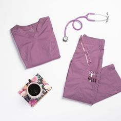 The Beyond Scrubs Ellie 4 Pocket V-Neck Scrub Top is made with stretch fabric and roomy pockets. Shop for yours at Scrubs & Beyond. Scrubs Outfit, Scrubs Uniform, Medical Scrubs, Nursing Scrubs, Cute Scrubs, Medical Uniforms, Peeling, V Neck Tops, Work Wear