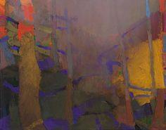 """Creek Light; 2015; Oil on linen; 46"""" x 58"""" [BR 42]"""