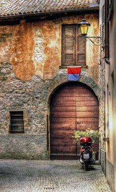Mendrisio, Switzerland by Elvetino and Dide Wonderful Places, Beautiful Places, Unique Doors, Old Doors, Zurich, Adventure Is Out There, The Good Place, Places To Go, Scenery