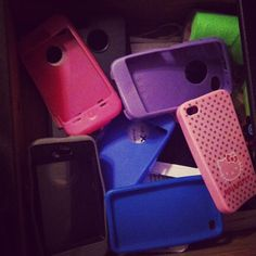 Little obsessed with cases..  #iphone #love #otterboxes #hellokitty When you are in the market for an Otterbox iPhone 4 case, check out http://www.buycheapappleiphones.com/otterbox-iphone-4-case/  Large selection of defender and commuter cases.  Even some cases are available.
