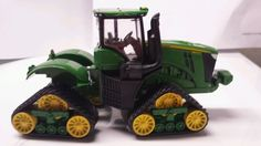 1/64 ERTL custom John deere 9560r 4wd tractor with tracks farm toy #Ertl