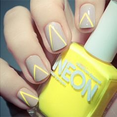 25 Ways to Rock Neon Nails this summer (via Pshiiit)