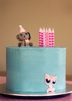 CUTENESS: LPS Cake... wish I can do this for my goddaughters Milan and Audrey