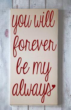 Forever!!