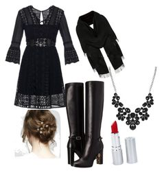 """""""Untitled #3"""" by maggie-wilson-i on Polyvore featuring self-portrait, Burberry and HoneyBee Gardens"""