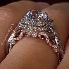 Jewelry Diamond : Verragio Engagement Rings Boca Raton - Buy Me Diamond Verragio Engagement Rings, Buying An Engagement Ring, Wedding Engagement, Wedding Bands, Verragio Rings, Expensive Engagement Rings, Gold Wedding, Dream Wedding, Expensive Wedding Rings