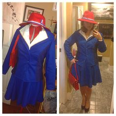 Agent Carter cosplay by captainaforawesome