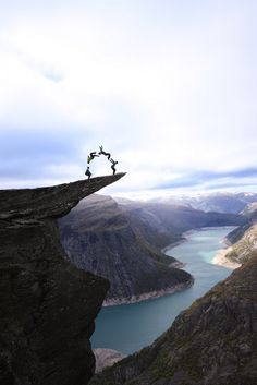 The Troll Tongue is called the scariest among all scary spots in Norway.