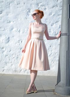 ASOS pink Debutante dress