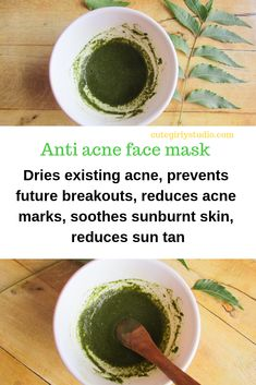 Moringa helps to prevent future acne breakouts while neem helps to dry out existing acne. This DIY anti acne face mask h... -  Moringa helps to prevent future acne breakouts while neem helps to dry out existing acne. This DIY anti acne face mask helps to heal acne quickly. It also soothes sunburnt skin and also reduces acne scars and sun tan. #diyskincare #diyskincarerecipes #skincaretips  - #DiyAcneFaceMask #DiyAcneFaceMaskaloevera #DiyAcneFaceMaskbakingsoda #DiyAcneFaceMaskblackheads…