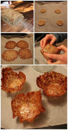 Så derfor får du opskriften på lækre sprøde nødde/mandelkurve. De er super lette at lave, så det er bare med at komme i gang, – hvis du fx skal lave en dessert her til weekenden. Du kan klikk…