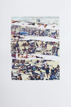 Pabli Stein, Cada vez mas cerca VI, Collage, 82 x 62 cm, 2011