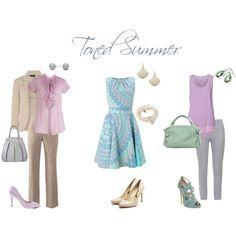 """Toned Summer"" by sabira-amira on Polyvore ~ Soft Summer Light"