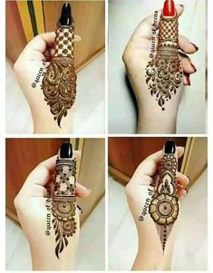 Simple Mehendi Designs for Eid Festival - - Looking for special mehndi designs for Eid Festival? Here's the collection of latest Eid Mehendi Designs to Celebrate Ramzan Festival in Easy Mehndi Designs, Latest Mehndi Designs, Bridal Mehndi Designs, Finger Henna Designs, Henna Art Designs, Indian Mehndi Designs, Mehndi Designs For Beginners, Mehndi Designs For Fingers, Mehndi Design Pictures