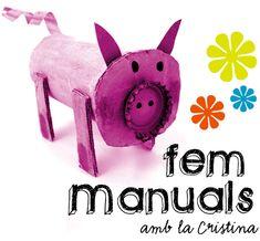 FEM MANUALS. Blog en catalán con ideas para trabajar en plástica.