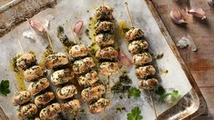 Are you looking for an idea for an interesting grilled dish? Grilled mushrooms in garlic salt . - Are you looking for an idea for an interesting grilled dish? Grilled mushrooms in garlic salt will - Grilled Mushrooms, Stuffed Mushrooms, Garlic Salt, Lidl, Sprouts, Grilling, Healthy Recipes, Healthy Food, Beef
