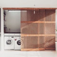 Interior Details - Bright Idea - Home, Room, Furniture and Garden Design Ideas Küchen Design, Design Case, House Design, Laundry Room Design, Laundry Area, Laundry Closet, Laundry Doors, Salon Interior Design, Interior Paint