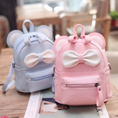 New girl shoulder bag Cartoon backpack dual-use small Diagonal School bag children cute bow small backpack mochilas escolares& Continue Reading. The post Cute bows toddler backpack appeared first on inspo. Cute Leather Backpacks, Cute Mini Backpacks, Stylish Backpacks, Toddler Backpack, Small Backpack, Backpack Bags, Travel Backpack, School Bags For Girls, Girls Bags