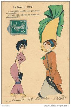 Xavier Sager - Postcard - Mode - Fashion - Hat - Glamour