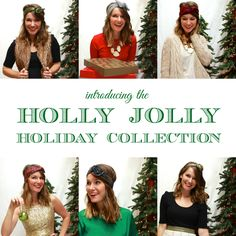 ((available black friday)) The Holly Jolly Holiday Collection