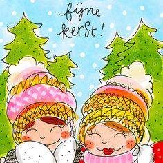 Kaart - Kerstkaarten Blond Amsterdam Getekend - Greetz Silver Christmas, Christmas Mugs, Victorian Christmas, Vintage Christmas, Christmas Crafts, Christmas Mantles, Valentine Wreath, Valentine Crafts, Easter Crafts