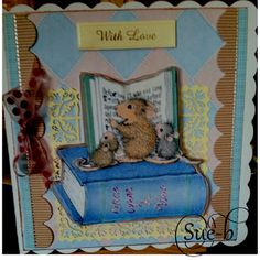 "House-Mouse & Friends Monday Challenge: HMFMC #222 ""A Day Spent With Friends"" Winners and Top 3"