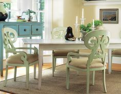 Nantucket Farmhouse Table via Bells & Whistles Shop