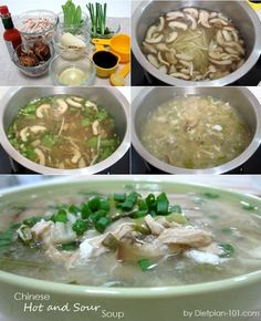 Chinese Hot and Sour Soup (South Beach Phase 1 Recipe)   Diet Plan 101