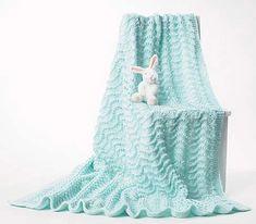 Bernat - free baby blanket knitting patterns