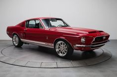 $tuningcars - Tuning Car Pictures GT350 #red #mustang #gt350 #shelby #ford #fordmustang #racingstripes #restore… #neoncar