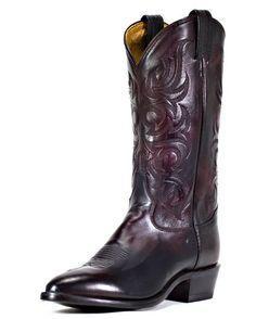 Men's Black Cherry Antique Regal Calf Boot