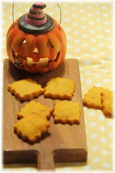 RECIPE: Pumpkin Shortbread