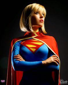 Supergirl Cosplay by Victoria Schmidt Dc Cosplay, Best Cosplay, Cosplay Girls, Cosplay Costumes, Female Cosplay, Schmidt, Ufc, Mystique Costume, Univers Dc