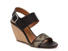 BC Footwear Retriever Woven Wedge Sandal