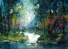 beautiful water color paintings