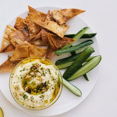 Traditional Greek skordalia is mostly garlic and olive oil with some potato or nuts added to thicken it. We flipped the ratio in this recipe: more potato, less garlic. Serve as a dip, or thin out with lemon juice and olive oil and use as a sauce for fish.