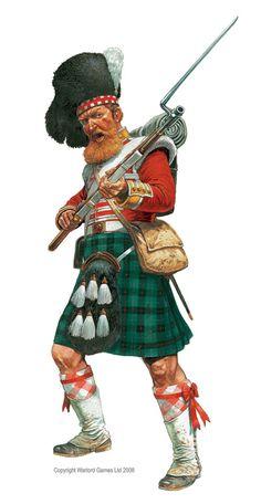 Crimean War Highlander by Peter Dennis