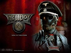 My favorite Nazi- the movie version of Kroenen from Mike Mignola's (and Guillermo Del Toro I suppose) HELLBOY. Hellboy 2004, Hellboy Movie, Hellboy 1, Hellboy Characters, Movie Characters, Fictional Characters, Mike Mignola, Hellboy Kroenen, Hellboy Wallpaper