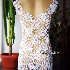 Crochet sexy dress