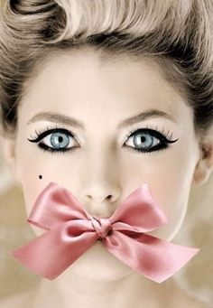 Image discovered by Save me this love! Find images and videos about girl, pink and makeup on We Heart It - the app to get lost in what you love. Color Splash, Funky Dresses, Little Presents, Winged Liner, Eye Liner, Color Rosa, Up Girl, Doll Face, Doll Eyes