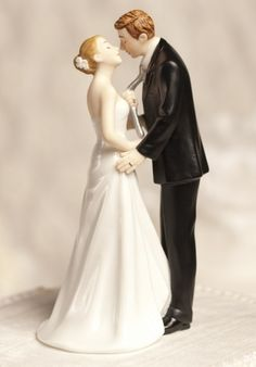 """""""Tie(ing) the Knot"""" Wedding Cake Topper"""