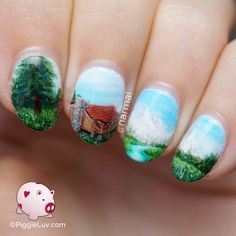 My ideal vacation would be hiking and enjoying the intense quiet of nature! If I could, I would go into my nails and have myself a little R&R for a week.... or 52 :-p