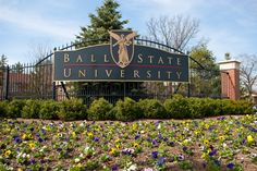 Spring time at Ball State University!