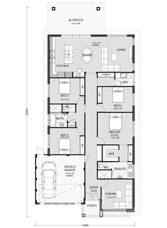 One Storey House Design with Floor Plan. 17 One Storey House Design with Floor Plan. Home Design Plan with 3 Bedrooms Simple Floor Plans, Modern House Floor Plans, Living Room Floor Plans, Floor Plan 4 Bedroom, Farmhouse Floor Plans, Contemporary House Plans, Small House Plans, Single Storey House Plans, One Storey House
