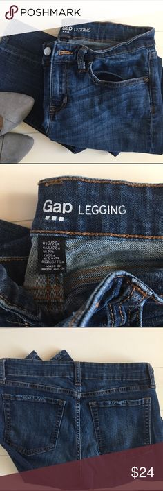 skinny jeans - Gap legging  fit 6/28 Super comfy legging fit is very flattering with boots this fall GAP Jeans Skinny